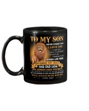 Son This Old Lion Will Always Have Your Back Mug back