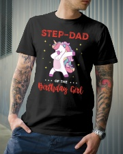 Step-Dad Of The Birthday Girl Classic T-Shirt lifestyle-mens-crewneck-front-6