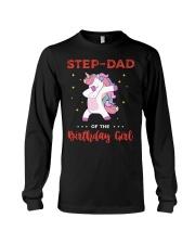 Step-Dad Of The Birthday Girl Long Sleeve Tee thumbnail