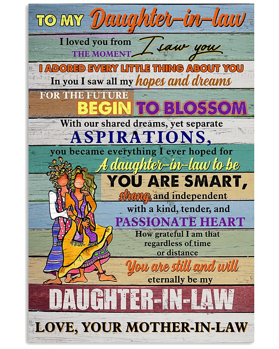 U Are Still And Will Eternal Be My Daughter-In-Law 11x17 Poster