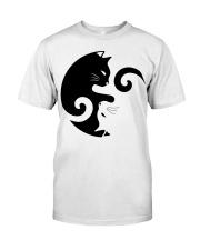 Yin Yang Cat Classic T-Shirt thumbnail