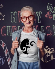 Yin Yang Cat Ladies T-Shirt lifestyle-holiday-crewneck-front-3