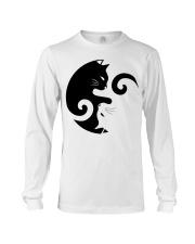 Yin Yang Cat Long Sleeve Tee thumbnail
