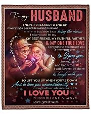 """I Never Dreamed I'd End Up Marrying Husband Fleece Blanket - 50"""" x 60"""" front"""