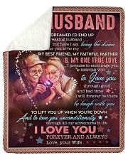 "I Never Dreamed I'd End Up Marrying Husband Sherpa Fleece Blanket - 50"" x 60"" thumbnail"