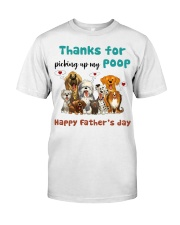 Thanks for picking up my poop  Classic T-Shirt thumbnail