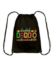 Super Daddio - For Dad Drawstring Bag thumbnail