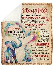 Everyday I Think About U GM-Granddaughter Sherpa Fleece Blanket tile