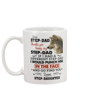Thanks For Being My Step-Dad Mug back