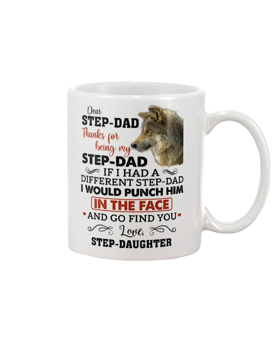 Thanks For Being My Step-Dad Mug