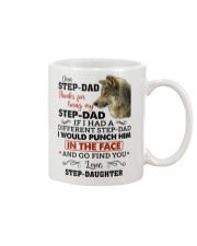 Thanks For Being My Step-Dad Mug front