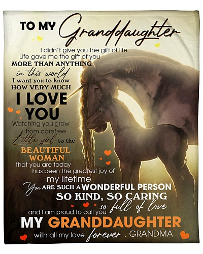 I Am Proud To Call You My Granddaughter I Love You