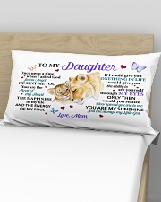 Once Upon A Time When I Asked God Mom To Daughter Rectangular Pillowcase aos-pillow-rectangular-front-lifestyle-02