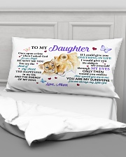 Once Upon A Time When I Asked God Mom To Daughter Rectangular Pillowcase aos-pillow-rectangular-front-lifestyle-03