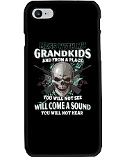 Mess With My Grandkids Phone Case thumbnail