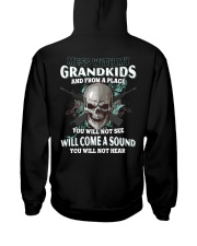 Mess With My Grandkids Hooded Sweatshirt thumbnail