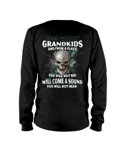 Mess With My Grandkids Long Sleeve Tee thumbnail