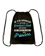 If I'm Spoiled It's My Grandma's Fault Drawstring Bag thumbnail