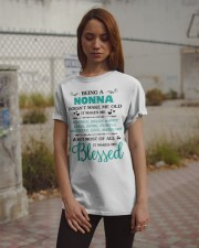 Being A Nonna Makes Me Blessed Classic T-Shirt apparel-classic-tshirt-lifestyle-18