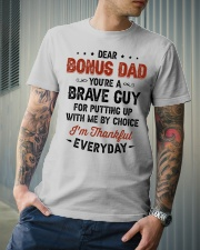 You're A Brave Guy I'm Thankful Everyday - For Dad Classic T-Shirt lifestyle-mens-crewneck-front-6