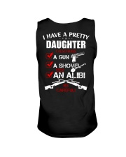 I have a pretty Daughter be careful Unisex Tank thumbnail