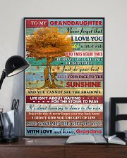 GD Be Brave Beautiful And Just Do Your Best GM 11x17 Poster lifestyle-poster-2
