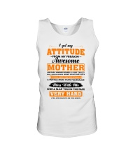 I Get My Attitude From My Freakin' Awesome Mother Unisex Tank thumbnail