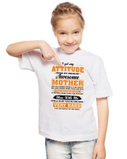 I Get My Attitude From My Freakin' Awesome Mother Youth T-Shirt lifestyle-youth-tshirt-front-2