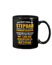 The Best Kind Of Stepdad Has A Stubborn Daughter Mug thumbnail