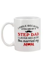 I Smile Because You Are My Step Dad Mug back