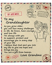"As You Grow Older - Grandma To Granddaughter Fleece Blanket - 50"" x 60"" front"