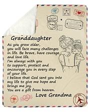 As You Grow Older - Grandma To Granddaughter Sherpa Fleece Blanket tile
