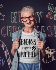 Badass Pupper Mother Ladies T-Shirt lifestyle-holiday-crewneck-front-3