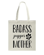 Badass Pupper Mother Tote Bag thumbnail