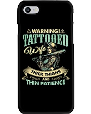 Tattooed Wife With Thick Thighs And Thin Patience Phone Case thumbnail