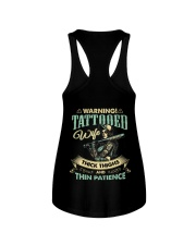 Tattooed Wife With Thick Thighs And Thin Patience Ladies Flowy Tank thumbnail