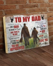I Know It's Not Easy For A Man Hunting Son To Dad 24x16 Gallery Wrapped Canvas Prints aos-canvas-pgw-24x16-lifestyle-front-03