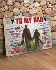 I Know It's Not Easy For A Man Hunting Son To Dad 24x16 Gallery Wrapped Canvas Prints aos-canvas-pgw-24x16-lifestyle-front-12