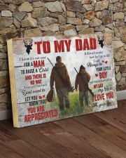 I Know It's Not Easy For A Man Hunting Son To Dad 24x16 Gallery Wrapped Canvas Prints aos-canvas-pgw-24x16-lifestyle-front-15