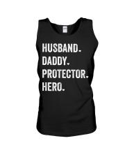 Husband Daddy Protector Hero Unisex Tank thumbnail
