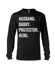 Husband Daddy Protector Hero Long Sleeve Tee thumbnail