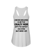 I Never Dreamed I'd Be This Crazy Mom Ladies Flowy Tank thumbnail