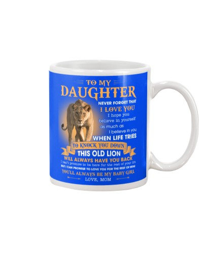 Daughter This Old Lion Will Always Have Your