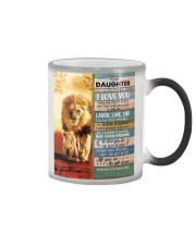 Lion- Never Forget That I Love U Dad-To-Daughter Color Changing Mug thumbnail
