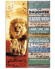 Lion- Never Forget That I Love U Dad-To-Daughter 11x17 Poster thumbnail