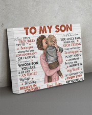 When Life's Troubles Try To Scare U Mom To Son 14x11 Gallery Wrapped Canvas Prints aos-canvas-pgw-14x11-lifestyle-front-15