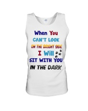 Sit With You In The Dark Unisex Tank thumbnail