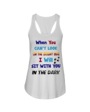 Sit With You In The Dark Ladies Flowy Tank thumbnail