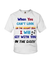 Sit With You In The Dark Youth T-Shirt thumbnail