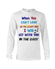 Sit With You In The Dark Long Sleeve Tee thumbnail